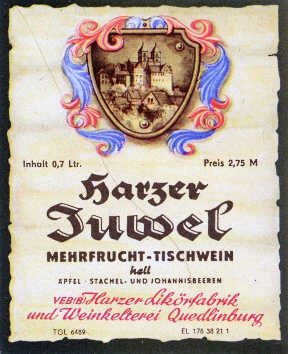 Harzer Juwel Tischwein