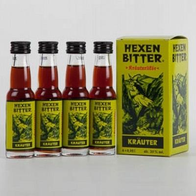 Hexenbitter - Kräuterlikör 4x0,02l