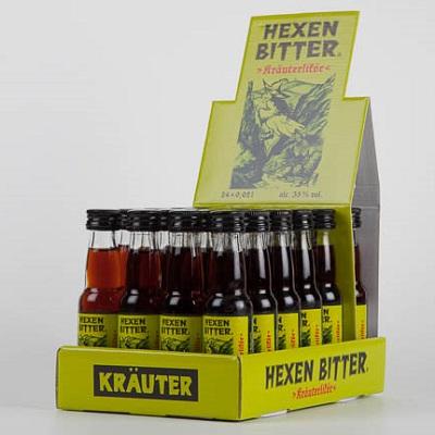 Hexenbitter - Kräuterlikör 24x0,02l